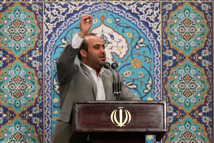 مداحی حاج مهدی قربانی از تبریز در محضر رهبر انقلاب